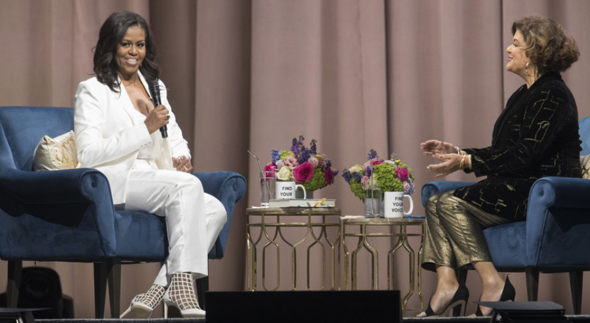 Michelle Obama's advice for Meghan Markle: 'Don't be in a hurry'