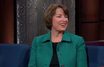 Amy Klobuchar's outline for beating Trump