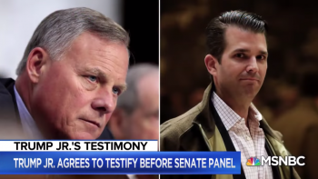 Donny Jr laughs off agreement to testify before Congress
