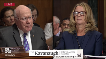 Christine Blasey Ford's strongest memory